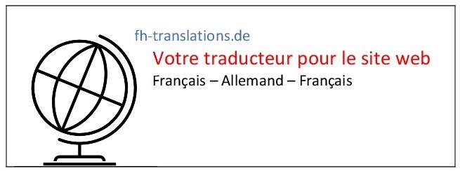 Traducteur français pour le site web